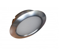 LED Downlights kit - Martec Wafer Brushed Aluminium 3000K