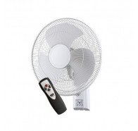 Ventair Zephyr II - 40cm Remote Controlled 3 Speed Oscillating Wall Mounted Fan