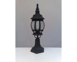 Fiorentino EPM 1 Light Pillar Mount Black