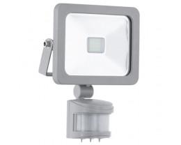 Eglo Faedo 1 Aluminium LED Flood Light With Sensor