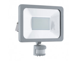 Eglo Faedo 1 Aluminium LED Flood Light With Sensor