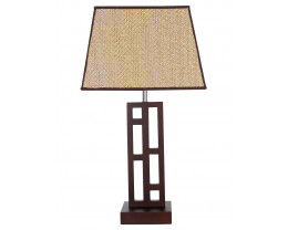 V & M Fuji Timber Table Lamp