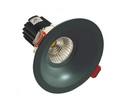 Telbix Modern Energy Efficient LED Downlights in Black