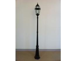 Fiorentino EPL6522 60W Post Light in Black