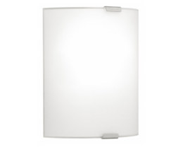 Eglo Grafik Large Plain Opal Glass Wall Lights