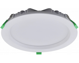 Tradetec Arte 20W dimmable LED downlights kit in white