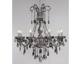 Fiorentino Avenue 8 Lights Chrome Crystal Chandeliers
