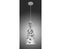 V & M BELLA 1 Light Pendant Lamp