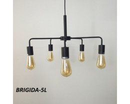 Fiorentino Brigida Black Cast Aluminium Pendant