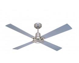 Martec Alpha Ceiling Fan in Silver 1200mm