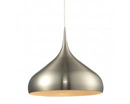 CLA Zara Dome Pendant in Satin Chrome