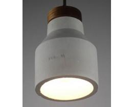 Fiorentino ELISA 1L Concrete Look Pendant Light