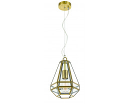 Telbix Espada Small Antique Brass Pendant Light