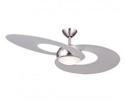 "Hunter Pacific Fascination 52"" Designer 2 Blade Ceiling Fan with 17W LED Light"
