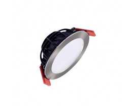 Telbix Flat 100 12W LED Dimmable Downlight in White