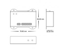 Havit HV9615 RGBW & RGBC LED Strip Controller