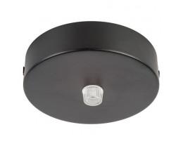 Havit HV9705-9025 90mm Surface Mounted Black Round Canopy