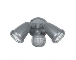 Telbix Illume LED Double Adjustable Exterior Spotlight