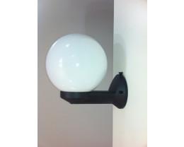 Fiorentino EWB 603-200, 250-Smoke and Opal 1 Light Exterior Wall Bracket