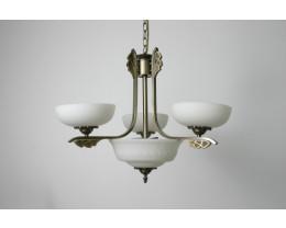 Fiorentino MX966 Antique Brass 5 Light Pendant