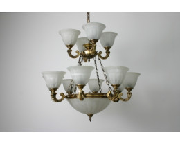 Fiorentino MX959 Antique Brass 15 Light Pendant