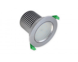 Martec Shadowline Brushed Nickel 16W LED Dimmable Gimble Downlight Kit
