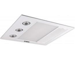 Martec Linear Mini White 3-In-1 Bathroom Heat Light Exhaust Fan