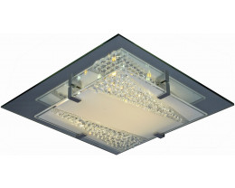 V & M Lordes Crystal LED Oyster 34cm