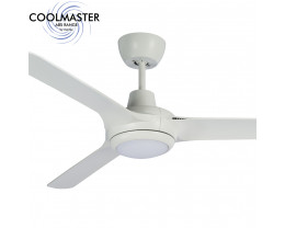 "Martec Coolmaster Cruise 56"" (1400mm) ABS Ceiling Fan with 15W CCT LED Light"