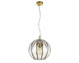 Telbix Medina Small Antique Brass Pendant Light