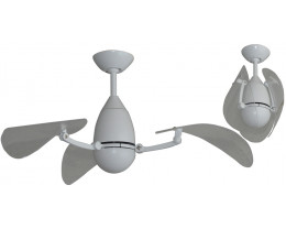 """Martec Vampire 38"""" (970mm) ABS Ceiling Fan with 15W CCT LED Light and Remote"""