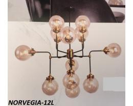 Fiorentino Norvegia Bronze and Black Pendant