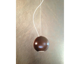 Fiorentino Pelota - Copper 1 Light LED Pendant