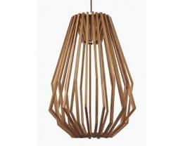 Fiorentino Ragusa Long 1L Veneer Pendant Lights