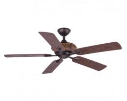 """Hunter Pacific Majestic ReZin 52"""" Oriental Indoor/Outdoor Polymer 5 Blade Ceiling Fan"""