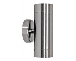 Telbix Riva Stainless Steel 5W LED Up / Down Exterior Wall Light