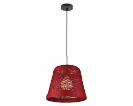 V & M Sorrento Bamboo Pendants Lights 40x36cm Large