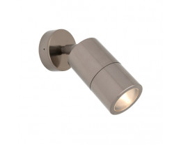Cougar Stockholm Anodised Aluminium 1 Light Exterior LED Wall Light