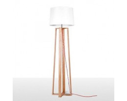 Fiorentino Sweden Floor Lamp In Wood Color