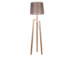 Fiorentino Tripod Floor Lamps in Wood Cloor