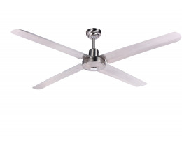 "Martec Trisera Brushed Nickel 1200mm 48"" Interchangable 3 or 4 Blade Ceiling Fan"