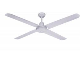 "Martec Trisera White 1300mm 52"" Interchangable 3 or 4 Blade Ceiling Fan"
