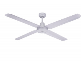 "Martec Trisera White 1400mm 56"" Interchangable 3 or 4 Blade Ceiling Fan"