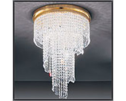 Fiorentino Twister 7 Light CTC Chandeliers
