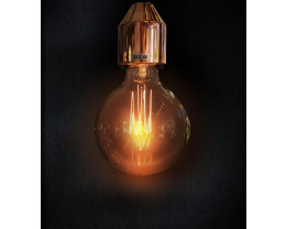Sphere 95 240V Carbon Filament Lamps