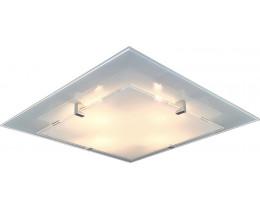 V & M Vedro Plain Frost LED Oyster