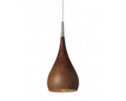 CLA Zara Bell Pendant in Burl Wood