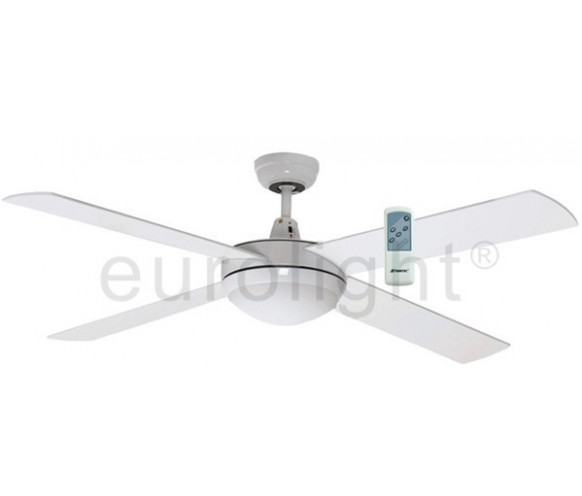 Martec lifestyle ceiling fan with halogen light eurolight martec lifestyle 52 1300mm white ceiling fan with halogen light premier remote aloadofball Images