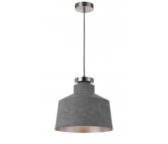 telbix fredi large concrete look pendant light