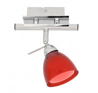 V & M Rosso 1 Light G9 Spotlight Red